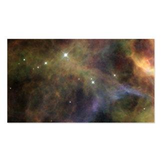 Nebulosa del velo - segmento tarjetas de visita