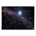 Nebulosa del velo tarjetón