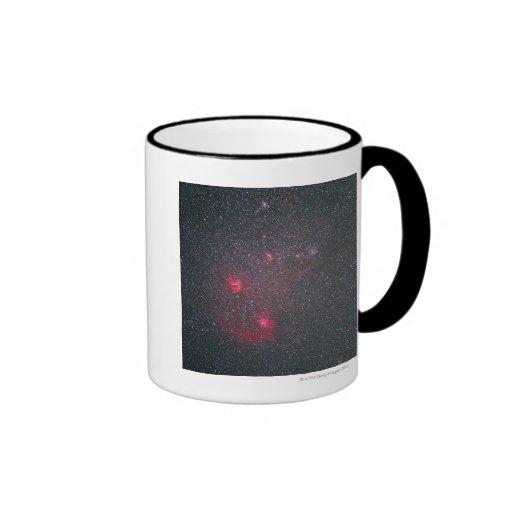 Nebulosa difusa 2 taza de café