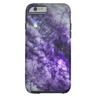 Nebulosa en caja púrpura del iPhone 6 Funda De iPhone 6 Tough