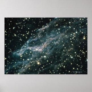 Nebulosa en Cygnus Poster