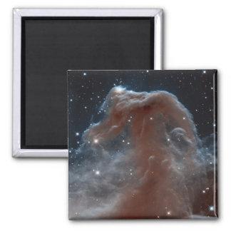 Nebulosa en la forma de Horsehead en rosa Imán Para Frigorifico