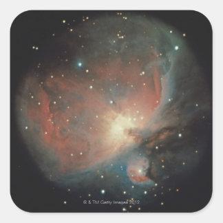 Nebulosa en Orión Colcomanias Cuadradas