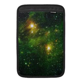Nebulosa esmeralda fundas para macbook air