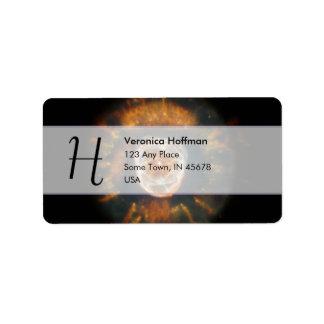 Nebulosa esquimal etiquetas de dirección