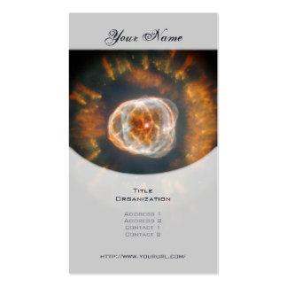 Nebulosa esquimal plantilla de tarjeta de visita