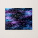 Nebulosa fantástica del espacio del viaje rompecabezas