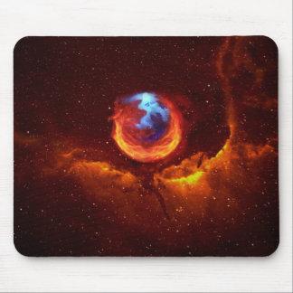 Nebulosa FireFox Mousepad Alfombrillas De Ratones
