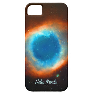 Nebulosa galaxias y estrellas de la hélice iPhone 5 cárcasas