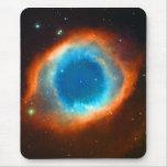 Nebulosa, galaxias y estrellas de la hélice tapete de ratones
