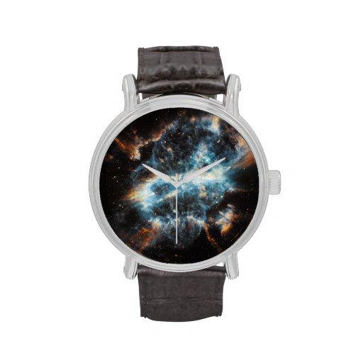 Nebulosa gaseosa brillante relojes de pulsera