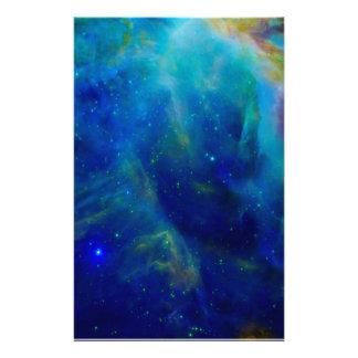 Nebulosa hermosa de Orión Papeleria De Diseño