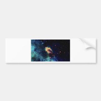 Nebulosa hermosa del espacio pegatina para coche