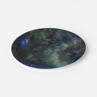 Nebulosa IC 1805 del corazón Plato De Papel De 7 Pulgadas