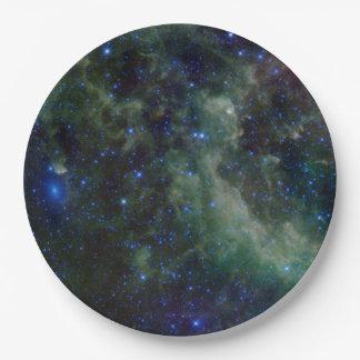 Nebulosa IC 1805 del corazón Plato De Papel De 9 Pulgadas