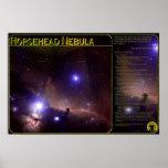 Nebulosa-Impresión de Horsehead Posters