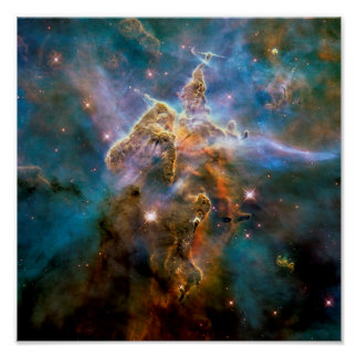 Nebulosa mística de Carina de la montaña Impresiones