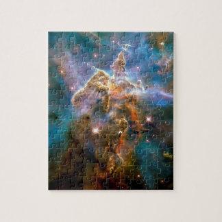Nebulosa mística de Carina de la montaña Puzzle