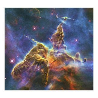 Nebulosa mística HH 901 HH 902 de Carina de la mon Fotografía