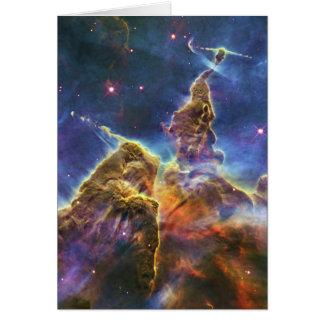 Nebulosa mística HH 901 HH 902 de Carina de la mon Felicitación