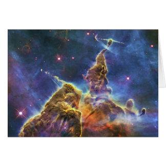 Nebulosa mística HH 901 HH 902 de Carina de la mon Felicitaciones