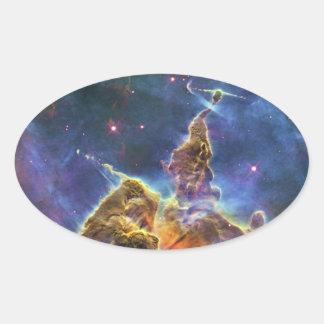 Nebulosa mística HH 901 HH 902 de Carina de la Pegatina De Ovaladas