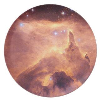 Nebulosa NGC6357 de la emisión Plato Para Fiesta