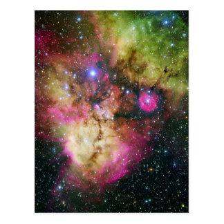 Nebulosa NGC 2467 del cúmulo de estrellas Tarjetas Postales