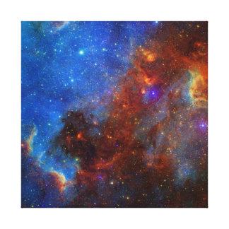 Nebulosa norteamericana impresión en lona estirada