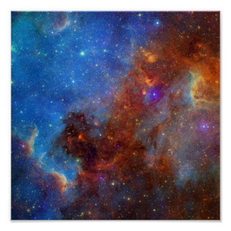 Nebulosa norteamericana póster