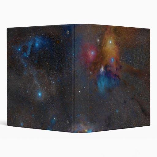 """Nebulosa oscura compleja de la nube de Ophiuchi de Carpeta 1"""""""