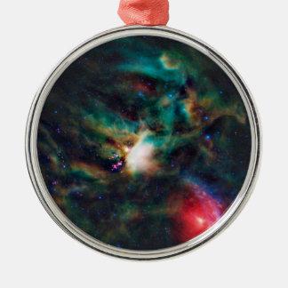 Nebulosa oscura compleja de la nube de Ophiuchi de Adorno Redondo Plateado