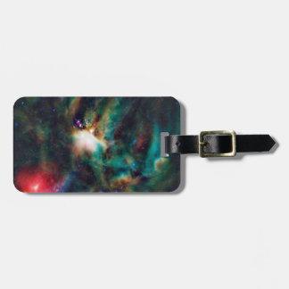 Nebulosa oscura compleja de la nube de Ophiuchi de Etiqueta Para Equipaje