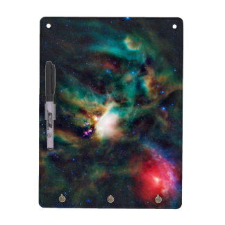 Nebulosa oscura compleja de la nube de Ophiuchi de Tablero Blanco