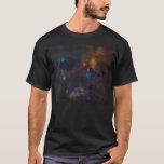 Nebulosa oscura compleja de la nube de Ophiuchi de Playera