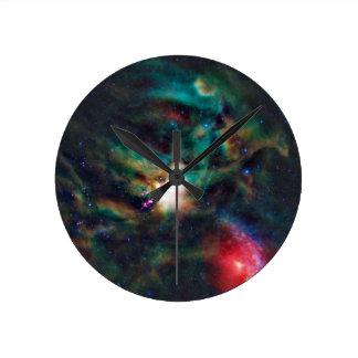 Nebulosa oscura compleja de la nube de Ophiuchi de Reloj
