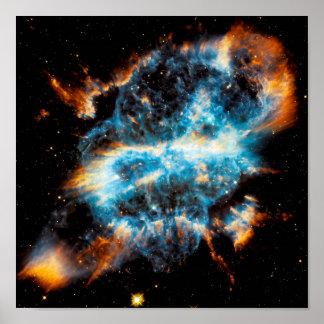 Nebulosa planetaria de NGC 5189 Posters