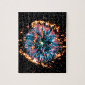 Nebulosa planetaria de NGC 6751 Puzzle