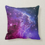Nebulosa púrpura de la cabeza del mono de Ombre Cojines