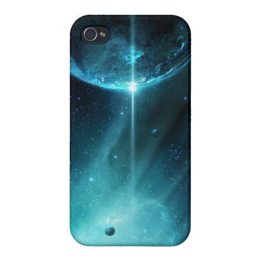Nebulosa que cautiva iPhone 4/4S funda
