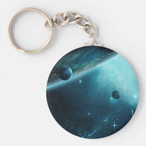 Nebulosa que cautiva llavero personalizado