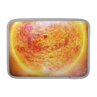Nebulosa que quema brillantemente fundas MacBook