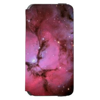 Nebulosa rosada, universo, colores de la foto, funda billetera para iPhone 6 watson