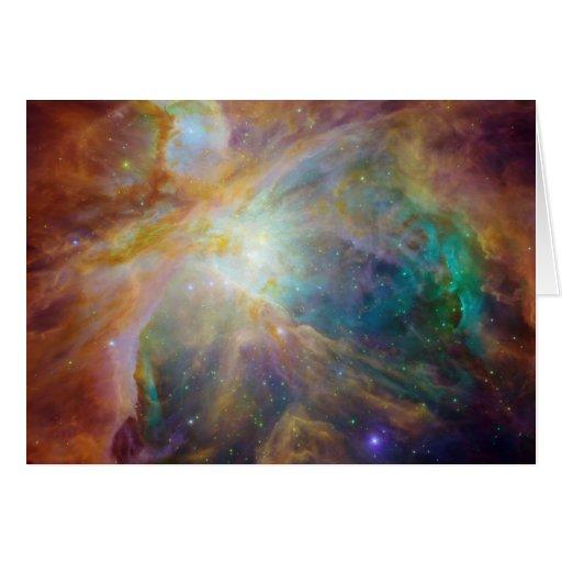 Nebulosa Tarjeta De Felicitación