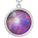 Nebulosa teñida rosa de Orión Colgante Redondo