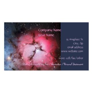 Nebulosa trífida, 16 más sucios - pilares de la tarjetas de visita