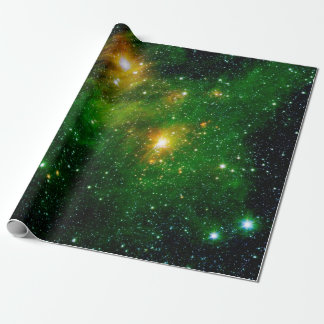 Nebulosa verde de la nube del gas GL490 Papel De Regalo