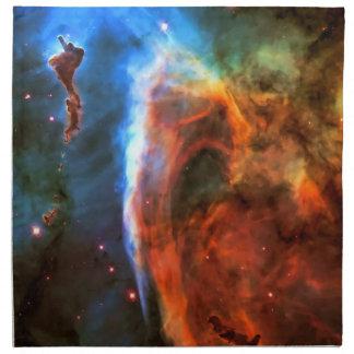 Nebulosa y Digitus Impudicus del ojo de la cerradu Servilletas