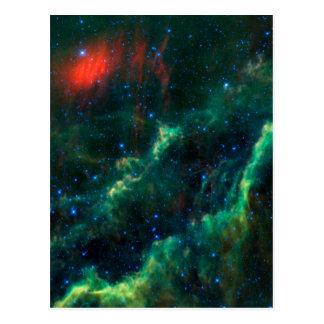 Nebulosa y estrella Menkhib de California Tarjetas Postales