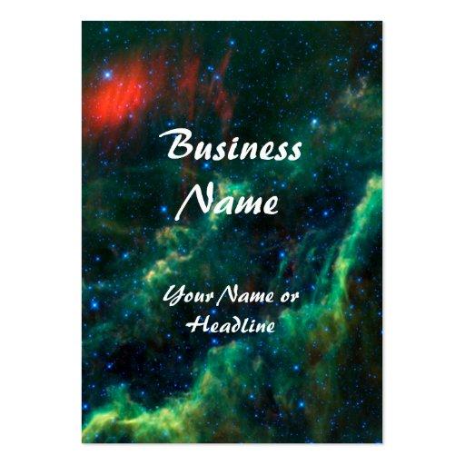 Nebulosa y estrella Menkhib de California Tarjetas De Visita Grandes